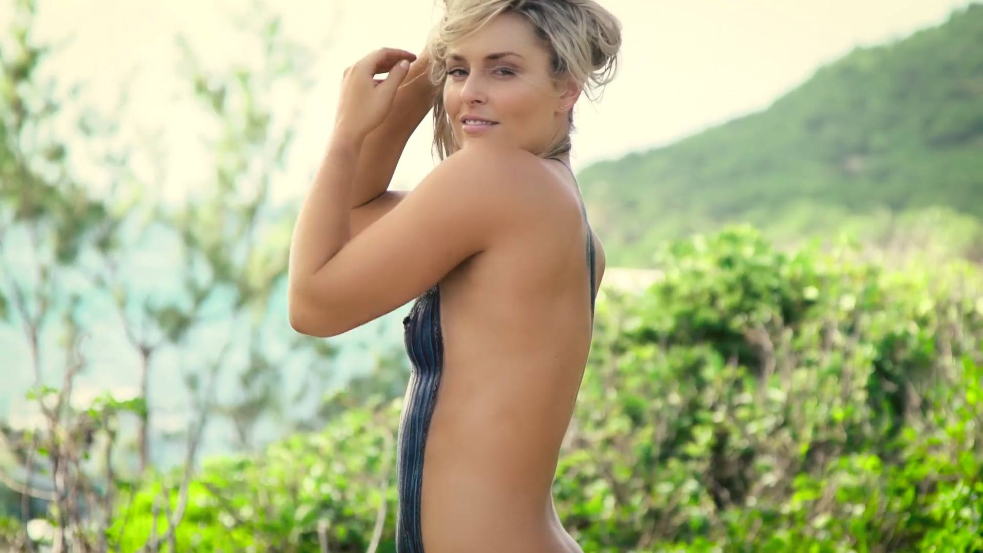 Gina Holden Topless